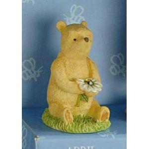 Winnie The Pooh April Birthstone Figurine