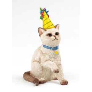 Party Time Cat Figurine