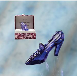 Crystal Sentiment Shoe - Mother