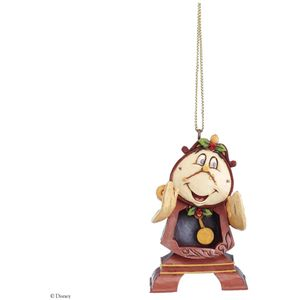 Disney Traditions Beauty & The Beast Cogsworth Hanging Tree Ornament