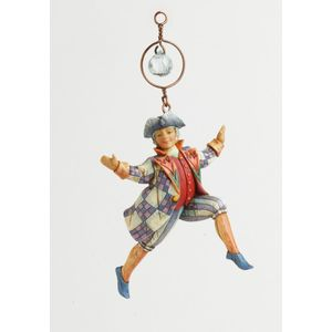 Ten Lords A Leaping Hanging Ornament