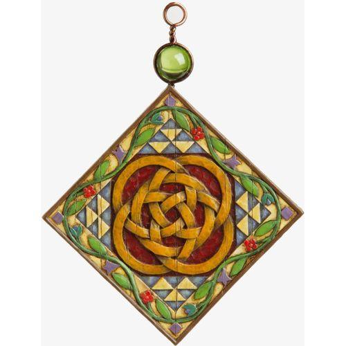 Heartwood Creek Five Golden Rings Hanging Ornament 4002368