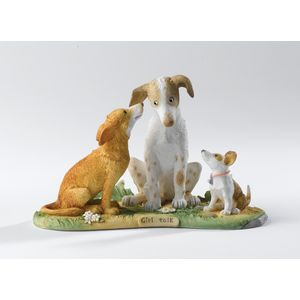 "Howlers & Growlers ""Girl Talk"" Figurine"