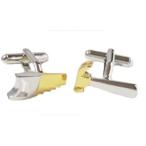 Hammer and Saw Cufflinks