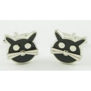 Lucky Black Cat Cufflinks