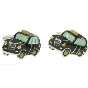 London Black Taxi Cufflinks
