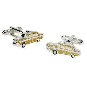 New York Yellow Cab Taxi Cufflinks