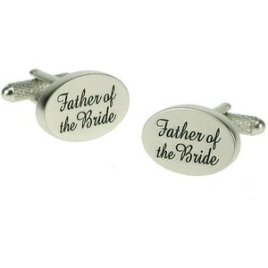Father of the Bride Wedding Cufflinks