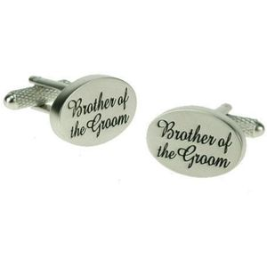 Brother of the Groom Wedding Cufflinks