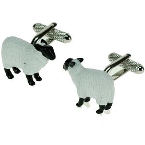 White Sheep Cufflinks