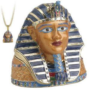 Hidden Treasures Egyptian Tutankhamun Trinket Box