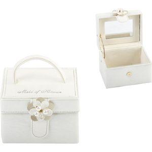 Juliana Wedding Party Leatherette Jewellery Box - Maid of Honour Keepsake Gift