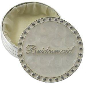 Bridesmaid Keepsake Trinket Box