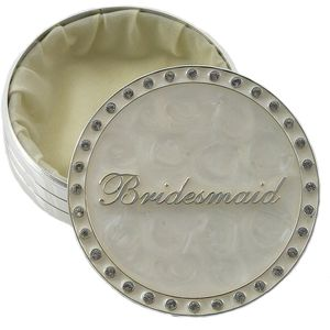Leonardo Wedding Party Trinket Box - Bridesmaid Keepsake Gift