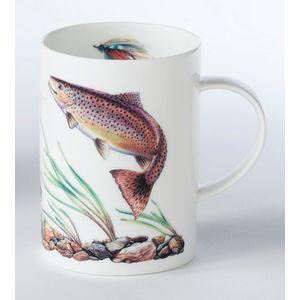 Brown Trout China Mug