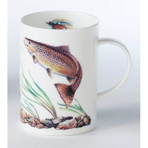 Border Fine Arts Studio Brown Trout China Mug Ref. A21320