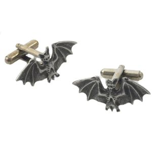 English Pewter Bat Cufflinks