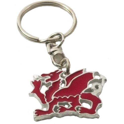 English Pewter Welsh Dragon Keyring
