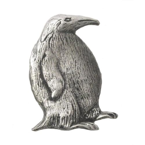 English Pewter Penguin  Tie Pin Badge