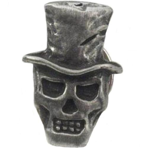 English Pewter Baron Samedi Tie Pin Badge