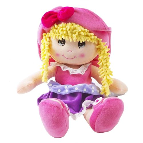 Ragdoll With Yellow Hair Soft Toy Ref 8267