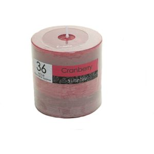 Cranberry Scented Candle