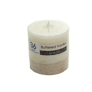 Simplite Scented Candle - Buttered Vanilla