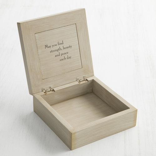 Willow Tree A Tree, A Prayer Memory Box 26635
