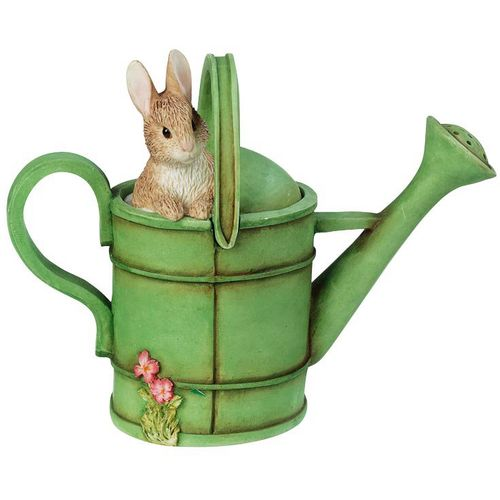 Beatrix Potter Peter Rabbit In Watering Can Trinket Box A0632