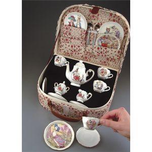 Beatrix Potter Miniature Tea Set In Case