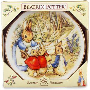 Reutter Porcelain Beatrix Potter Peter Rabbit Wall Plate
