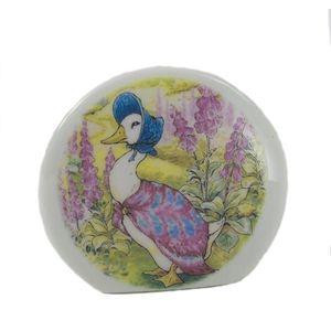 Reutter Porcelain Beatrix Potter Jemima Puddle-Duck China Money Box
