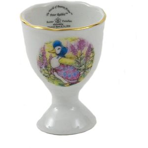 Beatrix Potter Jemima Puddle Duck China Egg Cup