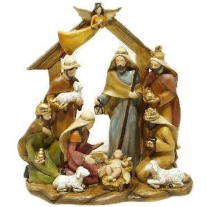 Large Christmas Nativity Set