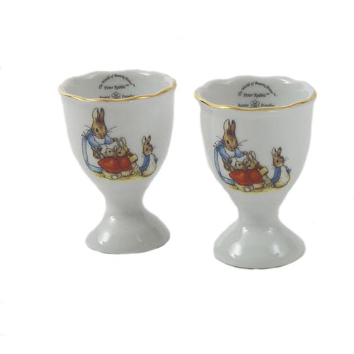 Beatrix Potter Peter Rabbit Set of 2 Egg Cups 56.261/2