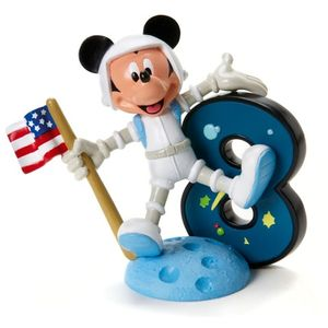 Mickey Mouse Number 8 Figurine