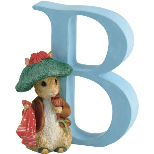 Beatrix Potter Letter B - Benjamin Bunny Figurine