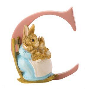 Beatrix Potter Alphabet Letter C - Mrs Rabbit & Bunnies