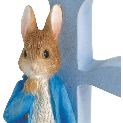 Beatrix Potter Letter E - Peter Rabbit With Onions Figurine