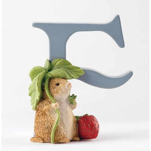 Beatrix Potter Letter F - Timmy Willie Figurine
