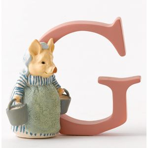 Beatrix Potter Alphabet Letter G - Aunt Petitoes