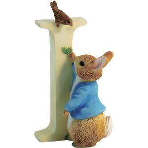 Beatrix Potter Alphabet Letter I - Peter Rabbit