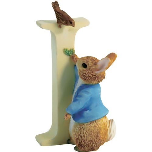 Beatrix Potter Letter I - Peter Rabbit Figurine