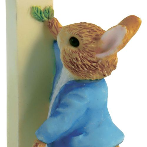 Beatrix Potter Letter I - Peter Rabbit Figurine