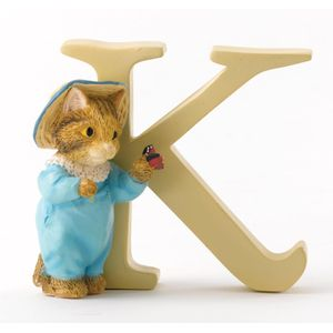 Beatrix Potter Alphabet Letter K - Tom Kitten