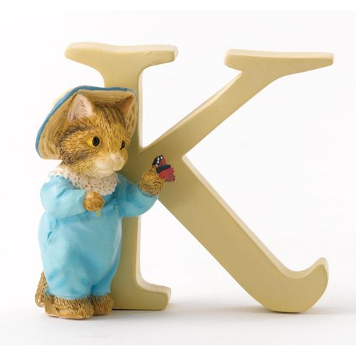 Beatrix Potter Letter K - Tom Kitten Figurine