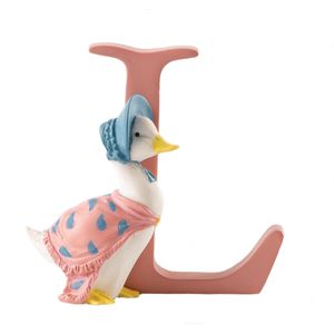 Beatrix Potter Alphabet Letter L - Jemima Puddle-duck