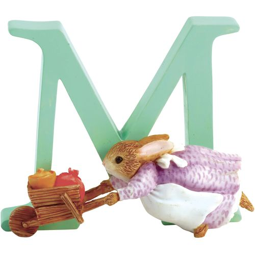 Beatrix Potter Letter M - Cecily Parsley Figurine