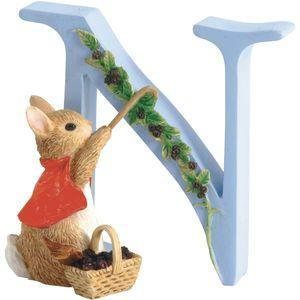 Beatrix Potter Alphabet Letter N - Cotton-tail