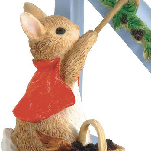 Beatrix Potter Letter N - Cotton-tail Figurine